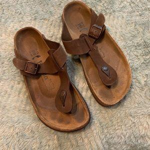 Birkenstock Betula Brown Flip Flop Sandals